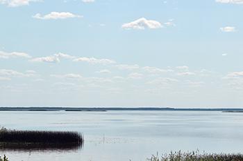 Озеро Лубанс – самое большое в Латвии